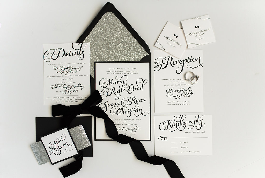 Hello Invite Design Studio - Cincinnati, Ohio Wedding Stationery Designer - Stationery Design, Stationery Designs - Photo - 33