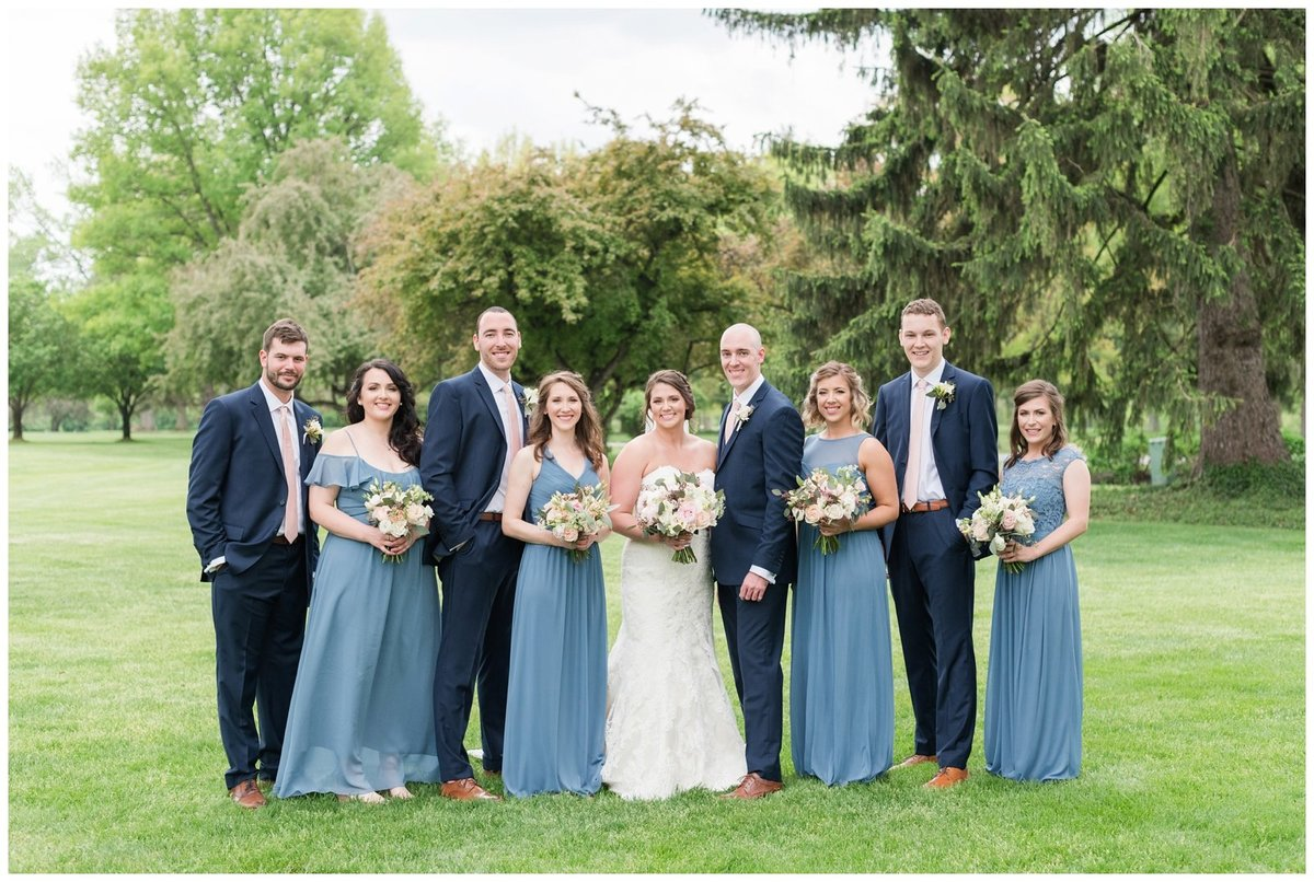 columbus ohio wedding photos brookside golf and country club outdoor wedding_0039