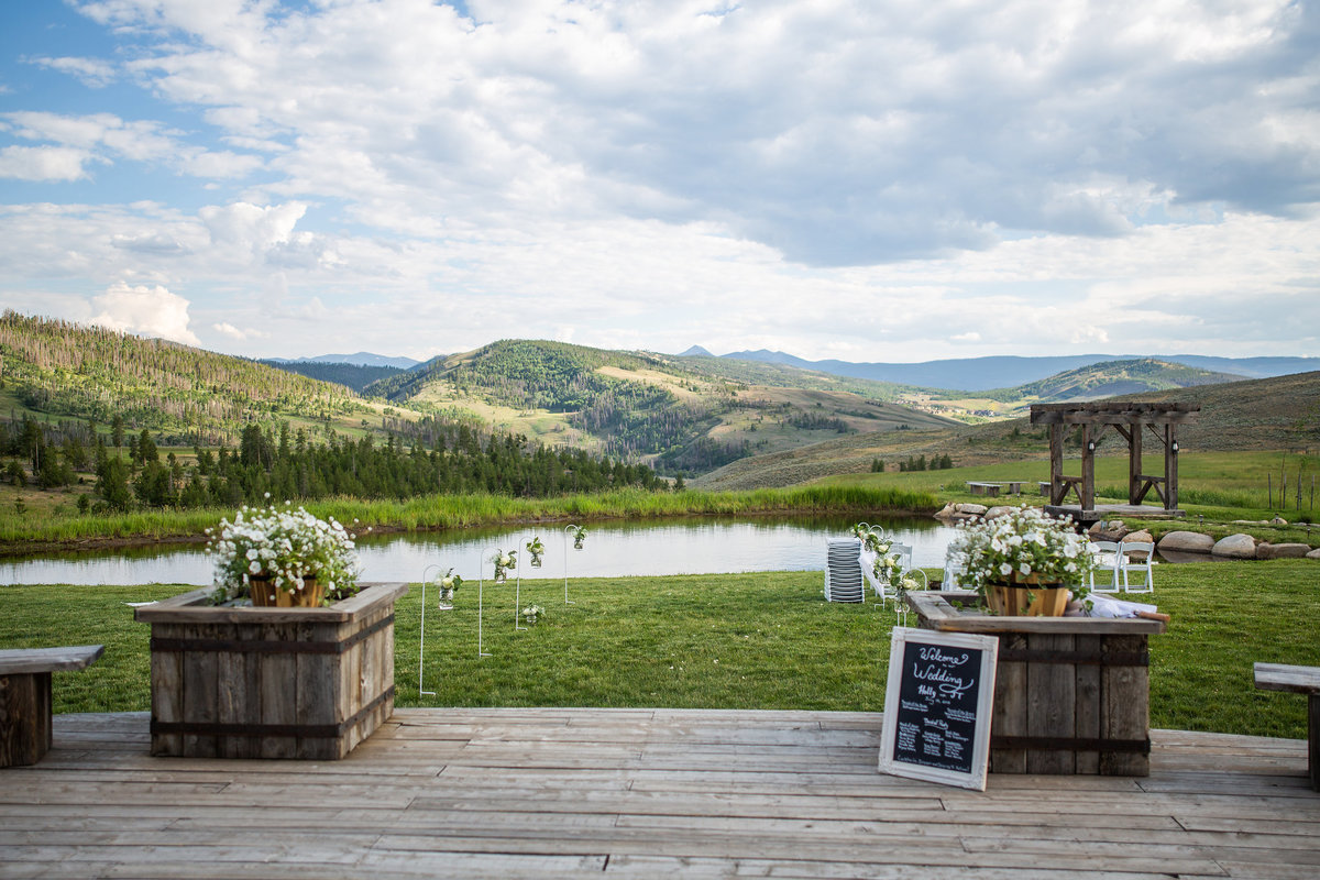 Strawberry-Creek-Ranch-Wedding-Ashley-McKenzie-Photography-Romantic-Mountain-Affair-Navy-Blush-Colorado-view-to-Byers-peak