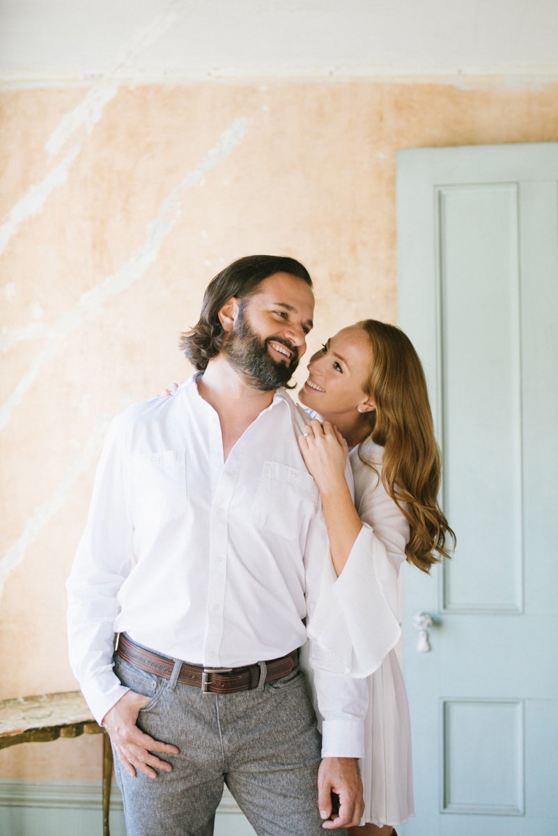 Unique and playful pastel engagement session in Staten Island NY