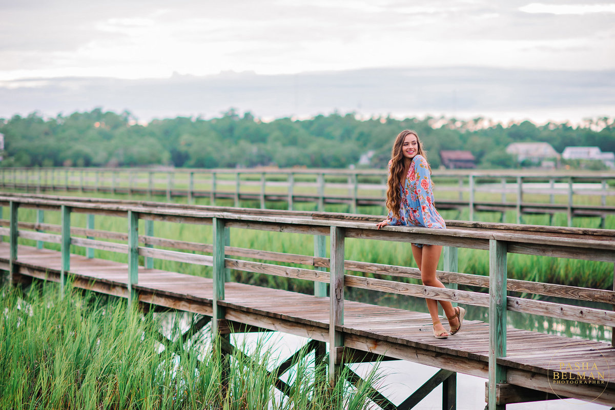 High School Senior Photos for Girls in Myrtle Beach