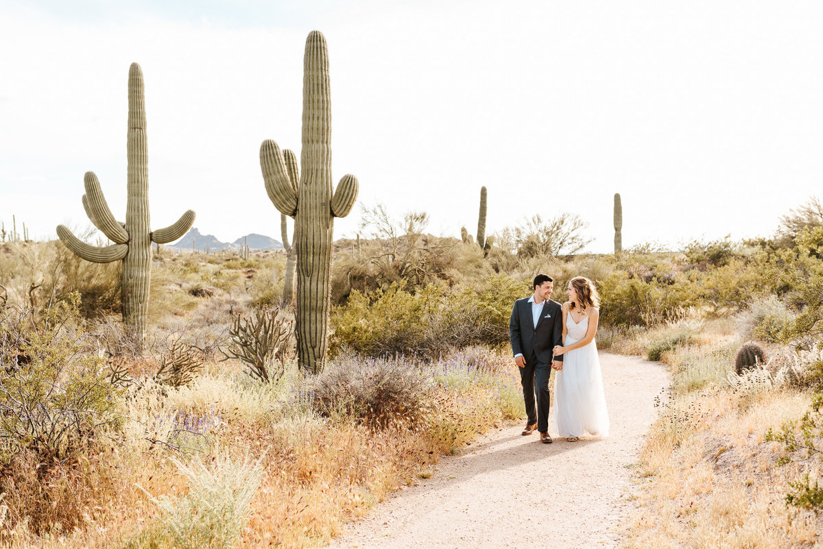 Arizona Desert Elopement Parker Micheaels Photography-1