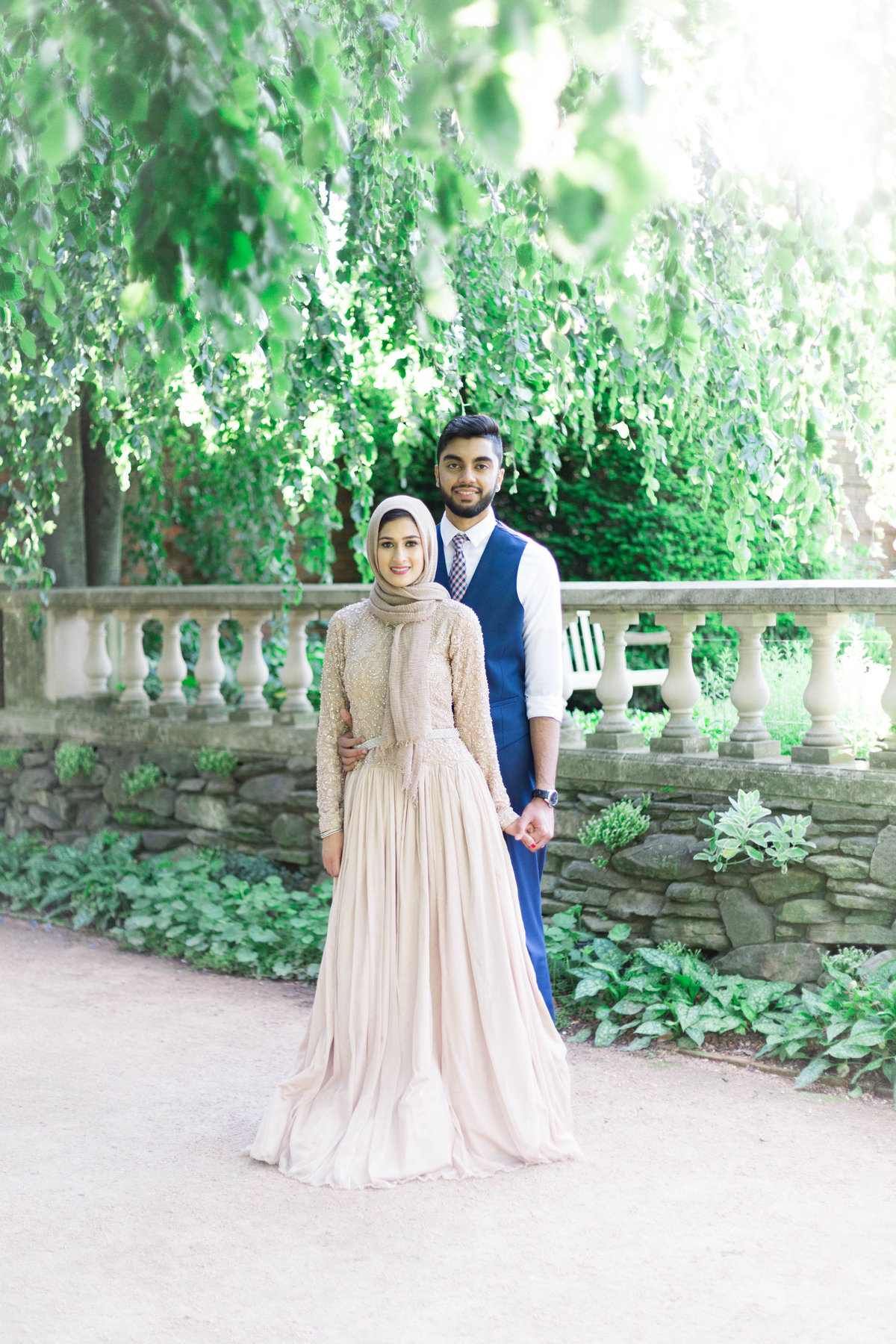 Humna & Fahad Chicago Botanic Engagement -14