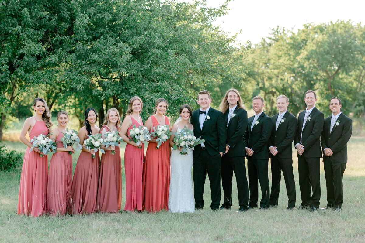 Anna & Billy's Wedding at The Nest at Ruth Farms | Dallas Wedding Photographer | Sami Kathryn Photography-164