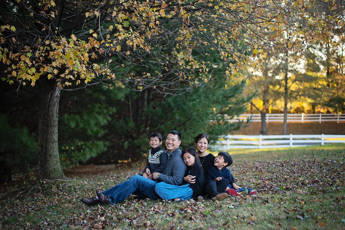Beautiful family portraits at Avenel Local Park in Potomac by Sarah Alice Photography 3