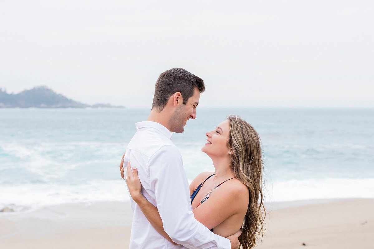 Your love is a vast as the ocean and as romantic as the love between you two. This Carmel beach is the perfect location to showcase the passion between you two.