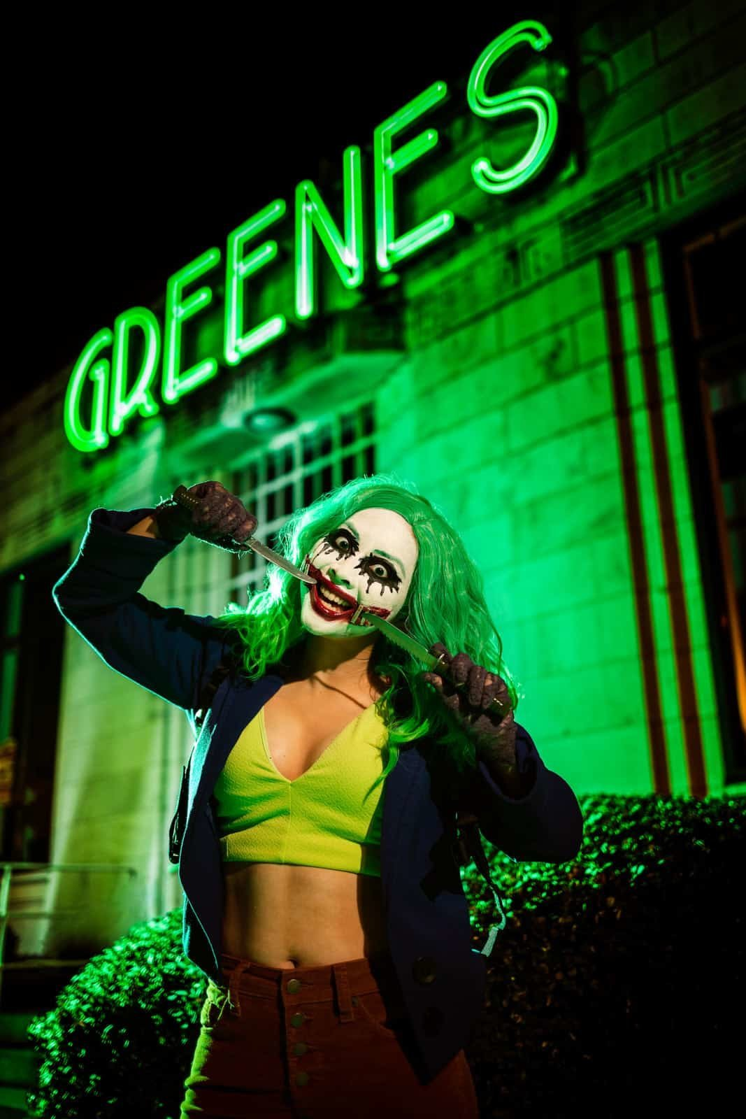 Atlanta joker cosplay portrait Mike Glatzer photography
