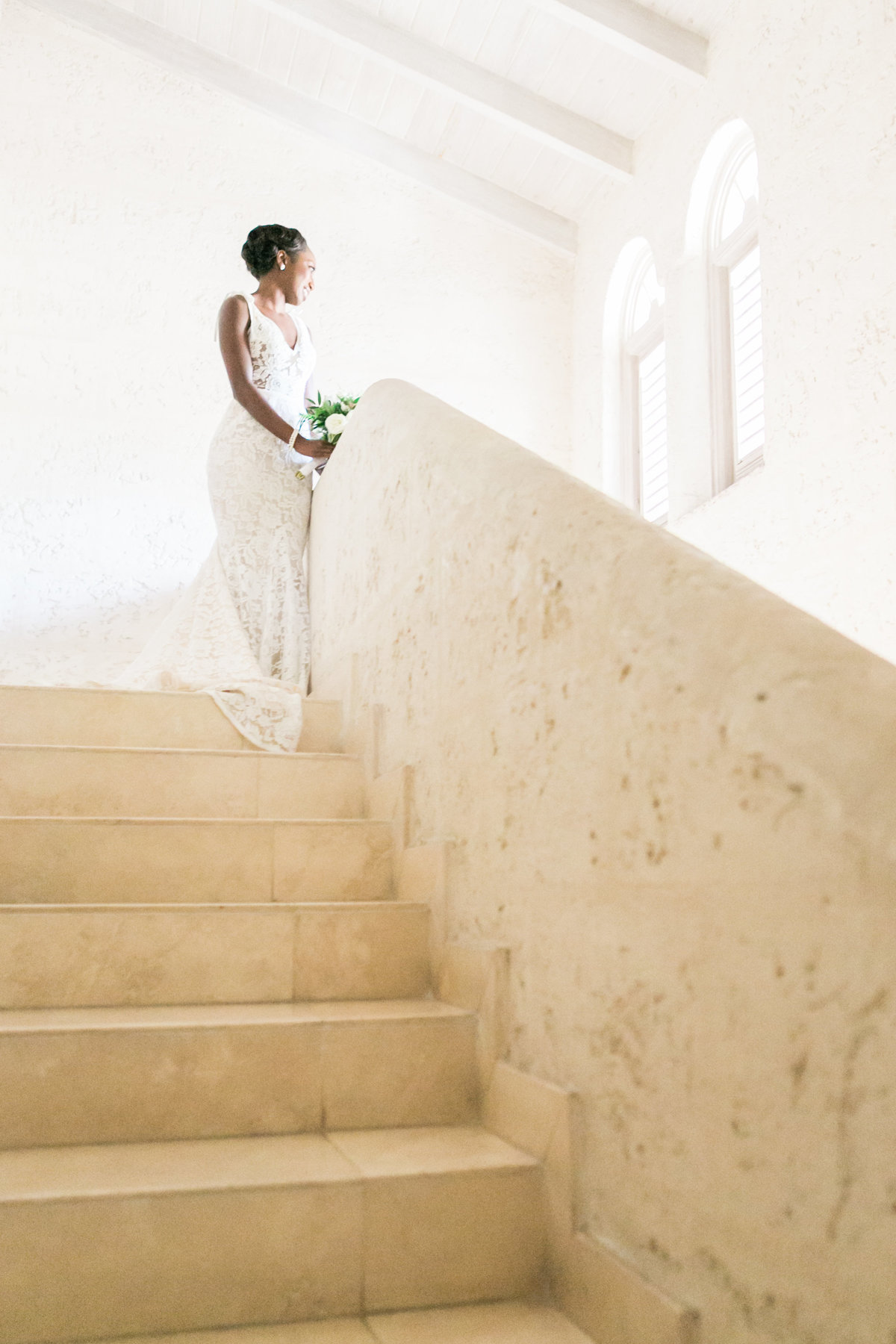 Barbados villa, Bluff House wedding, getting ready location