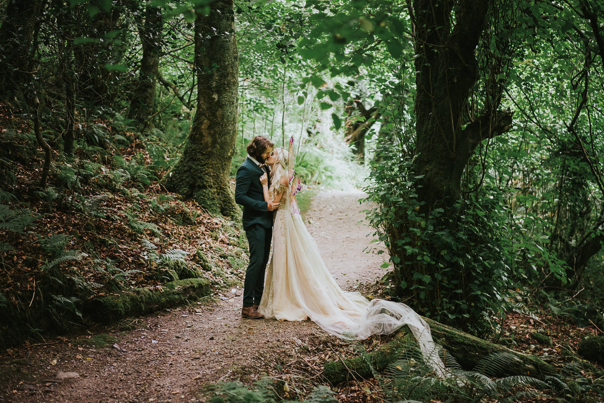 Ireland Forest Fairy Elven Elopement web-2