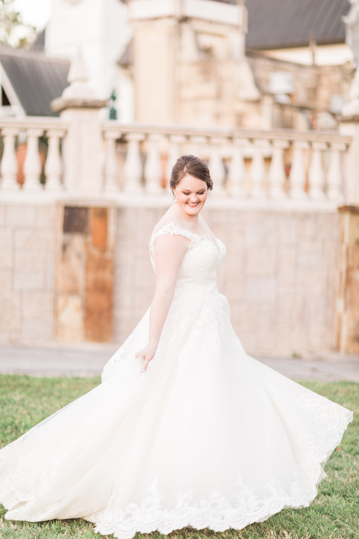 Festival Hill Round Top Texas Bridal Portraiture