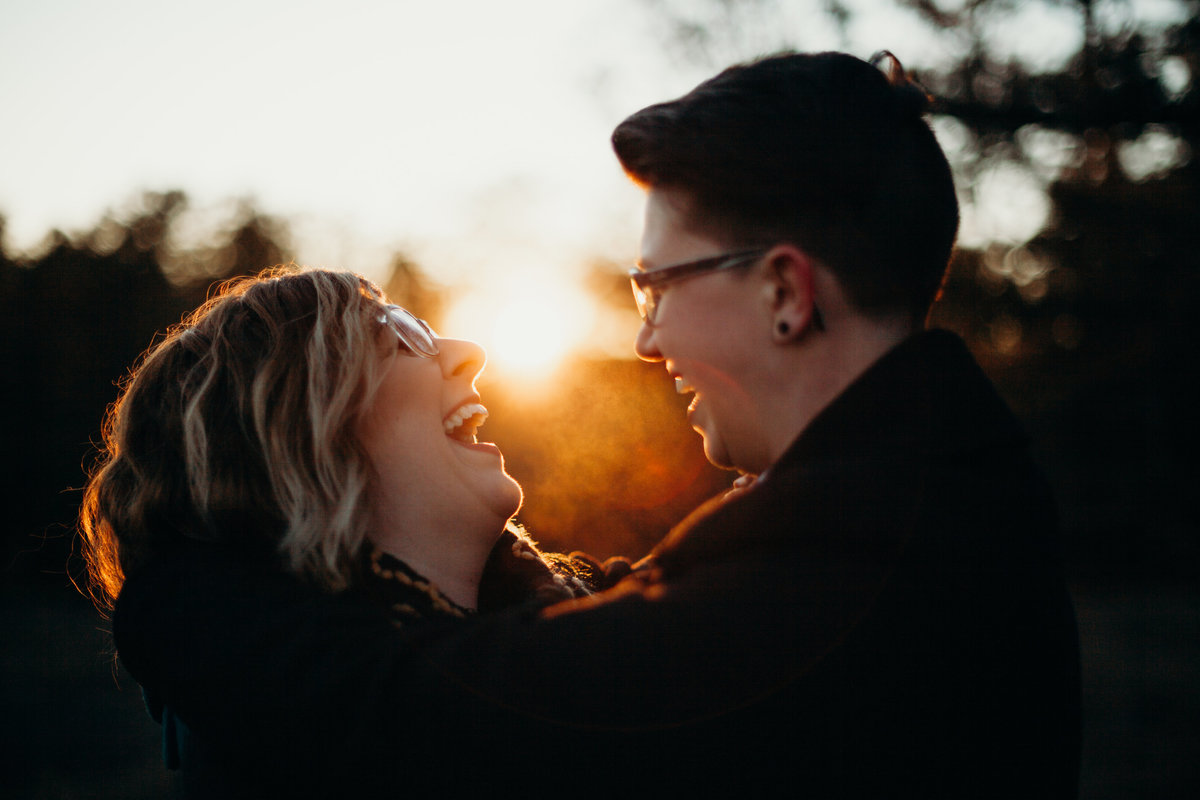 DuPont Forest engagement session by Greenville wedding Photographer Simply Violet Photography