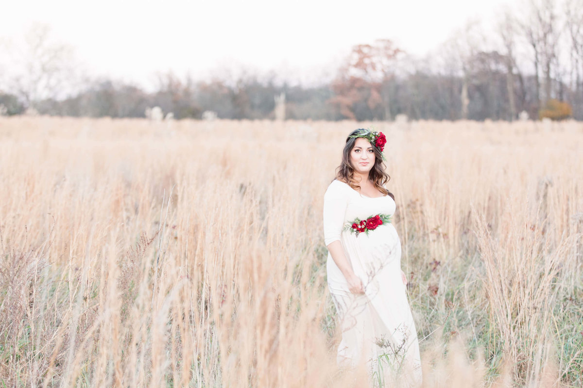 Christmas Maternity Shoot 1132