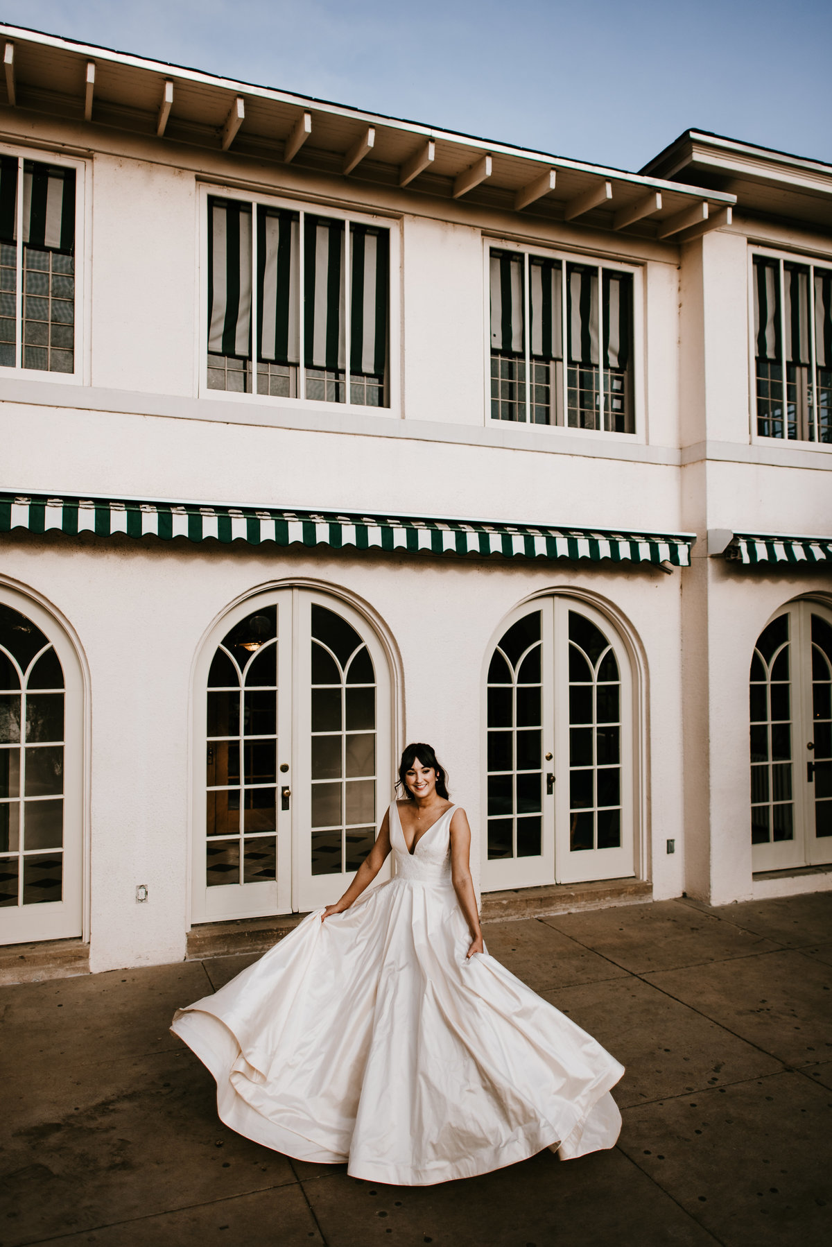 austin laguna gloria bridal session