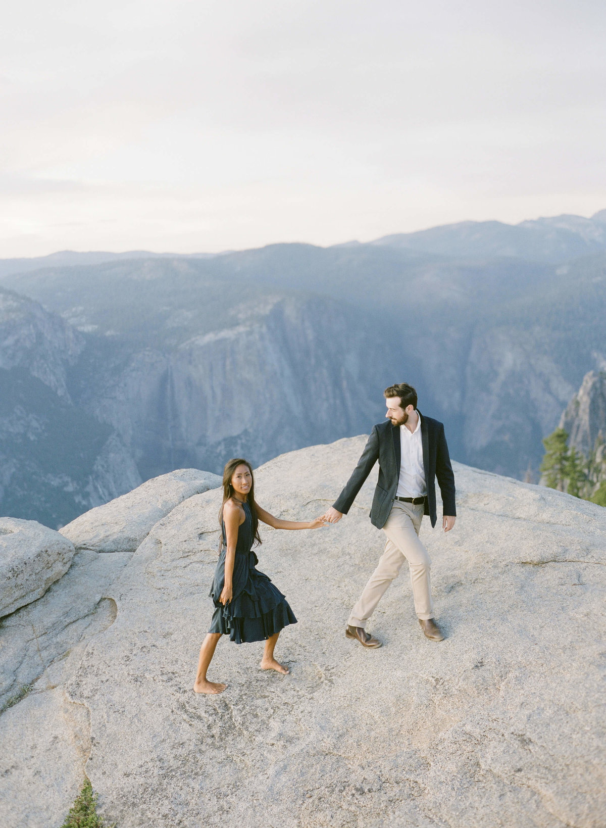 83-KTMerry-destination-engagement-photography-Yosemite-mountains