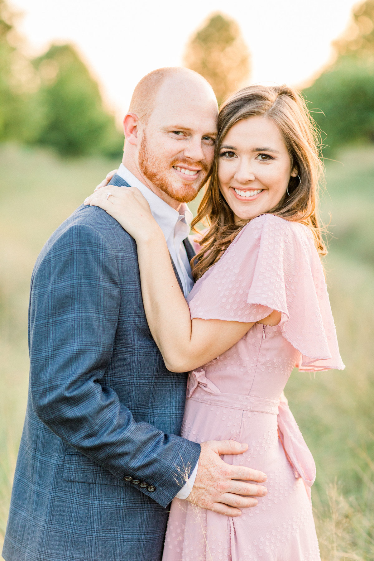 Summer Garden and Field Engagement Session in Birmingham Alabama-74