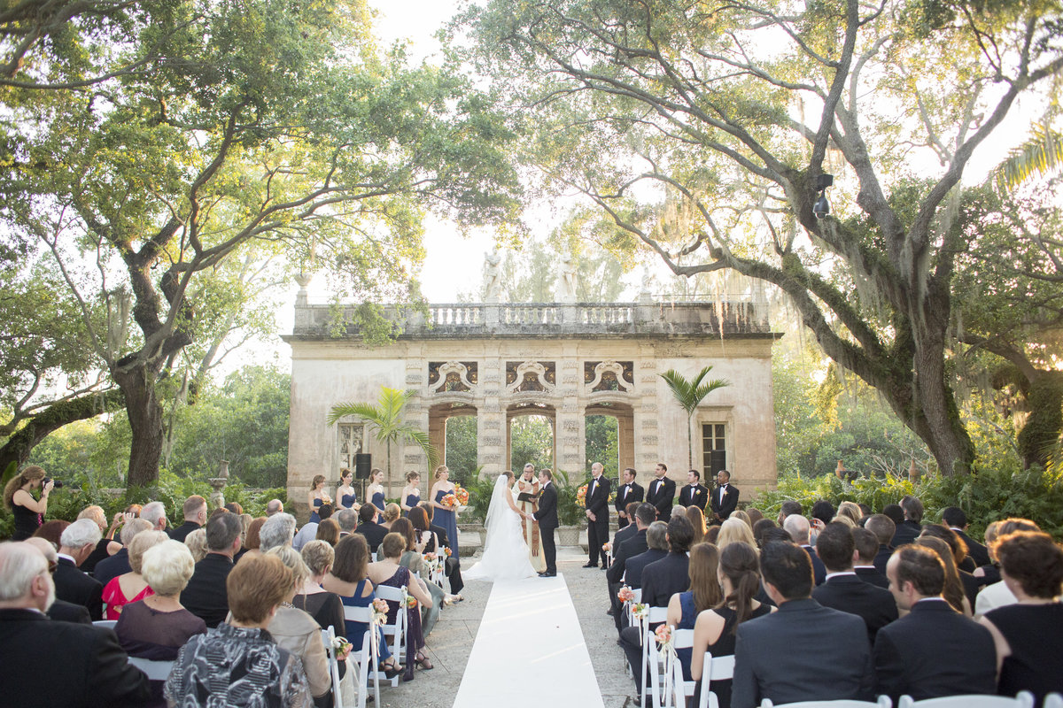 vizcaya wedding ceremony
