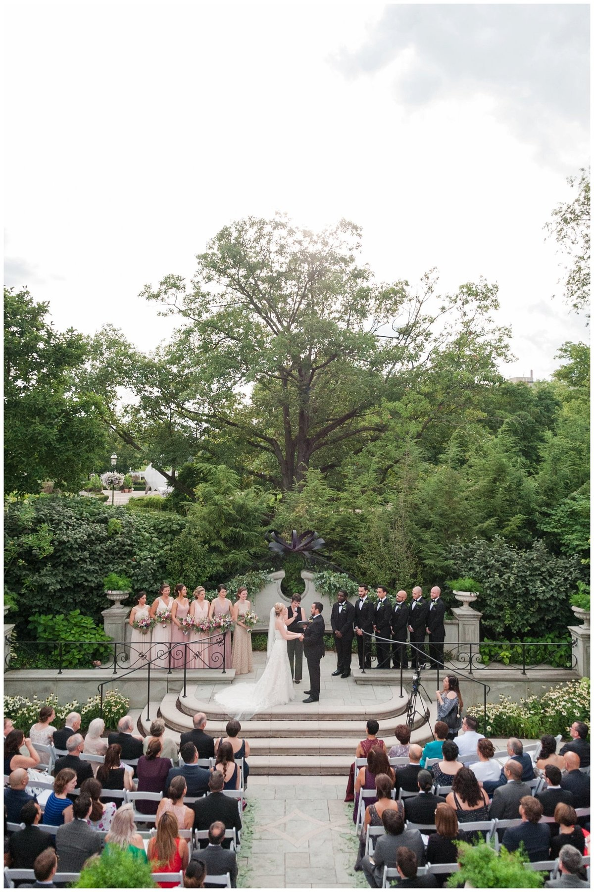 Franklin Park Conservatory Wedding The Palm House Bridal Garden Grove_0128