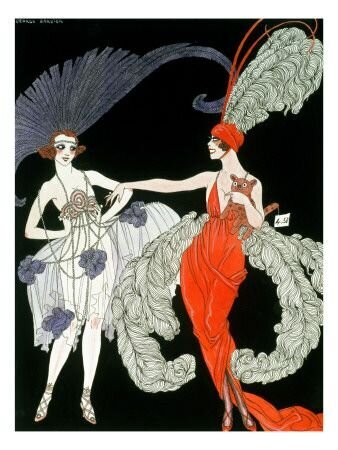 'The Purchase' Giclee Print - Georges Barbier _ Art_com