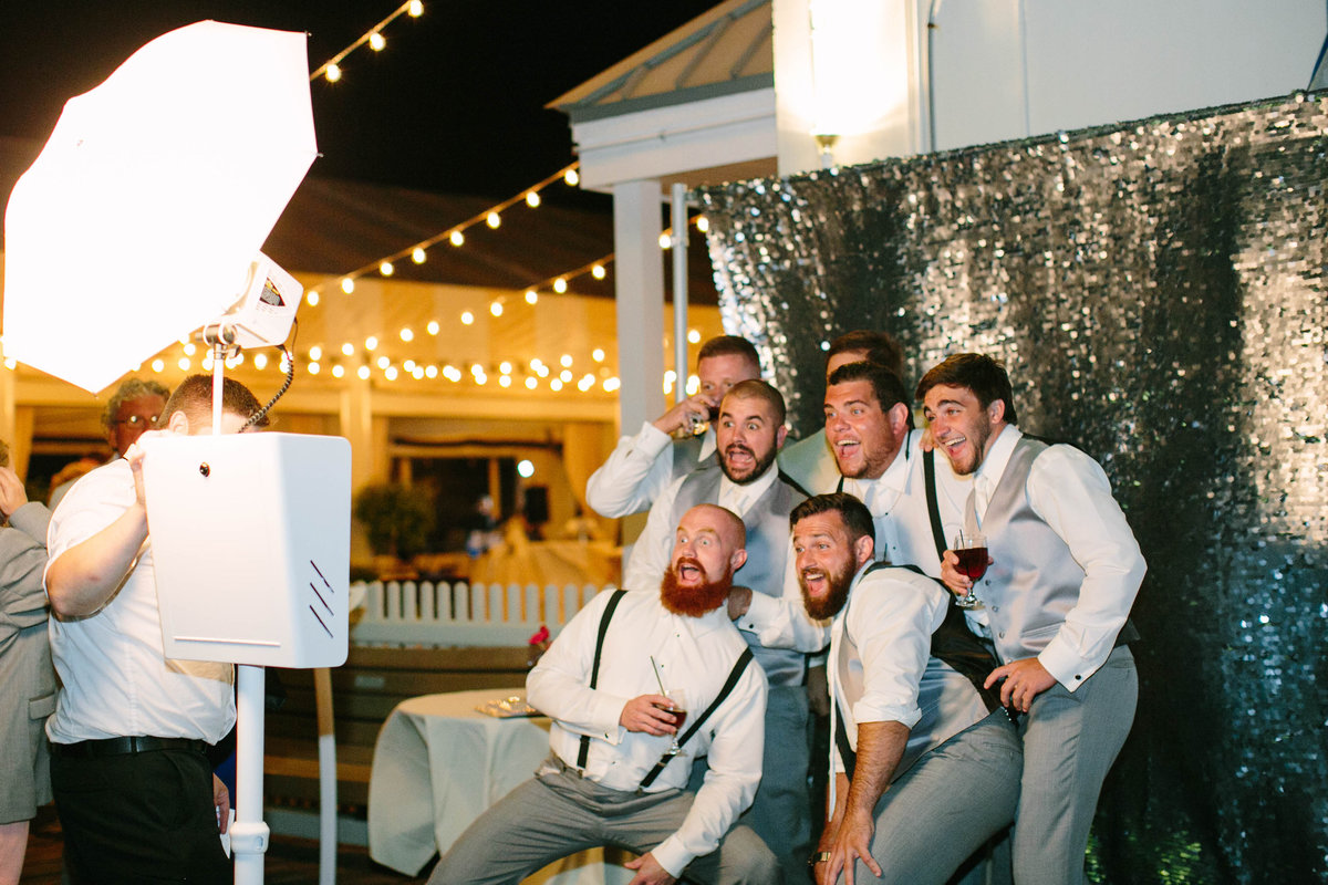 Newport Rhode Island Wedding Photo Booth