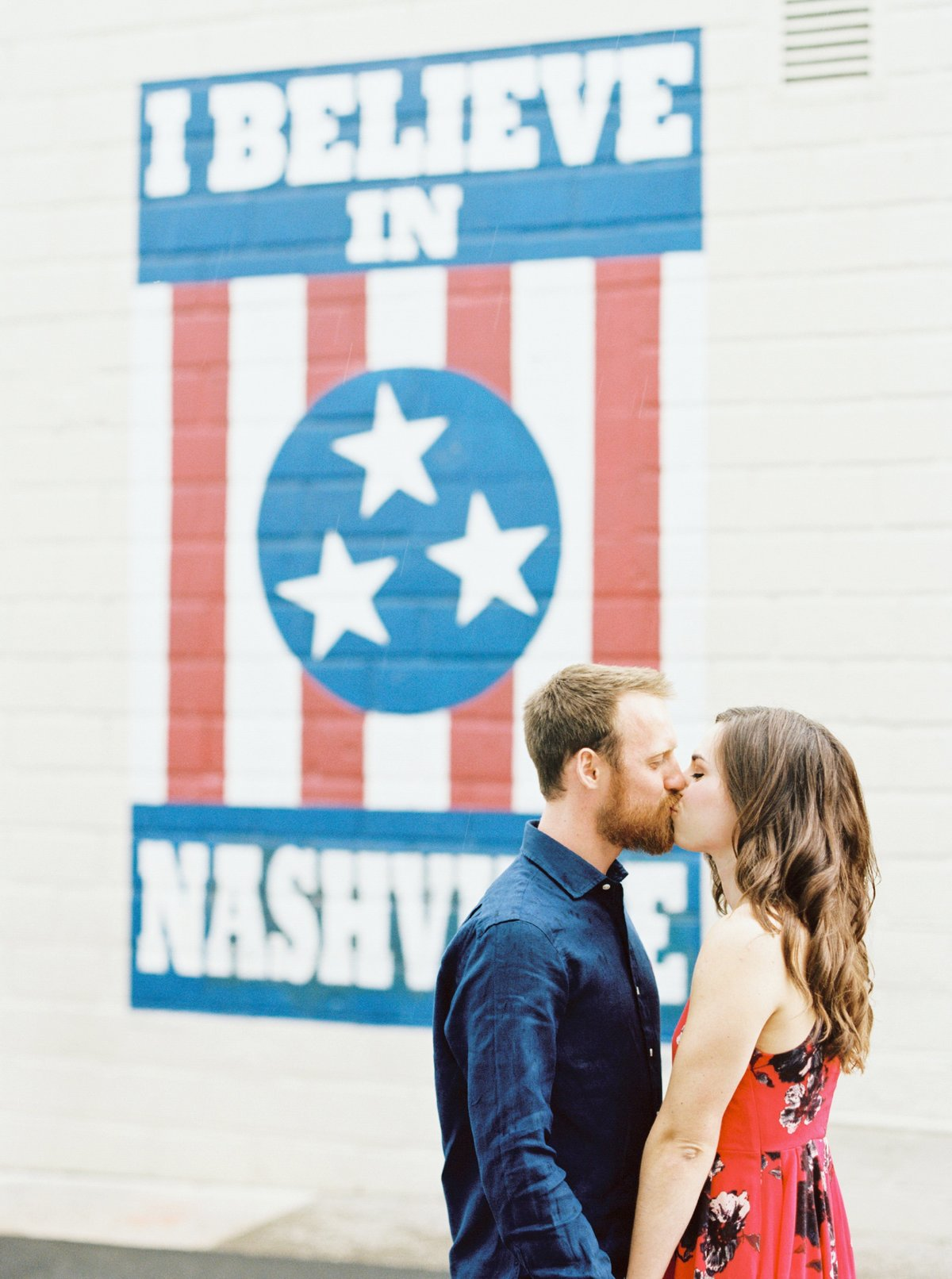 Nashville Engagement Session, Fine Art Film