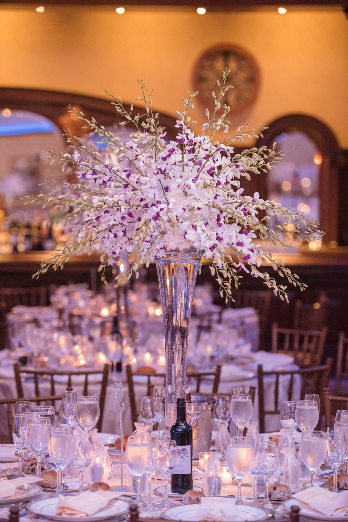 Larkfield Manor wedding decor