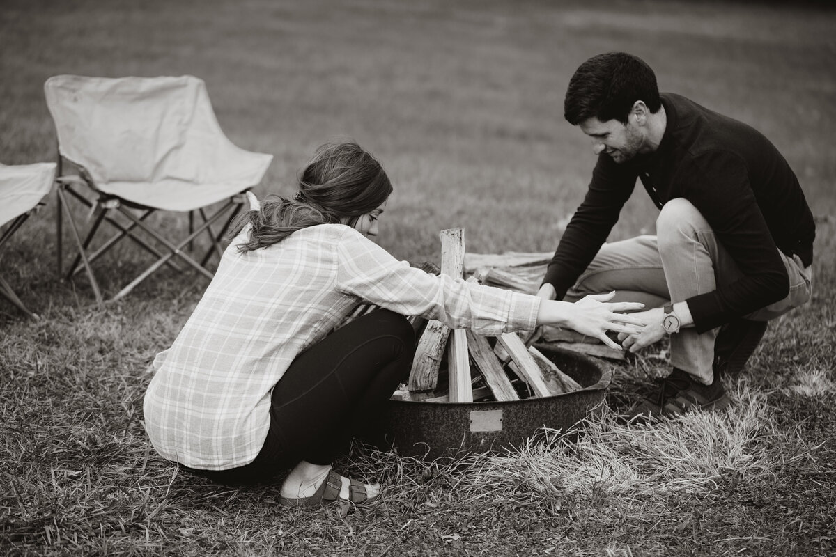 Renee_Jeff_Engagement Session_BW-4