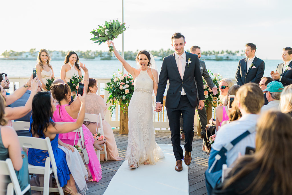 Key West Wedding | Amanda + Michael | Ocean Key Resort12