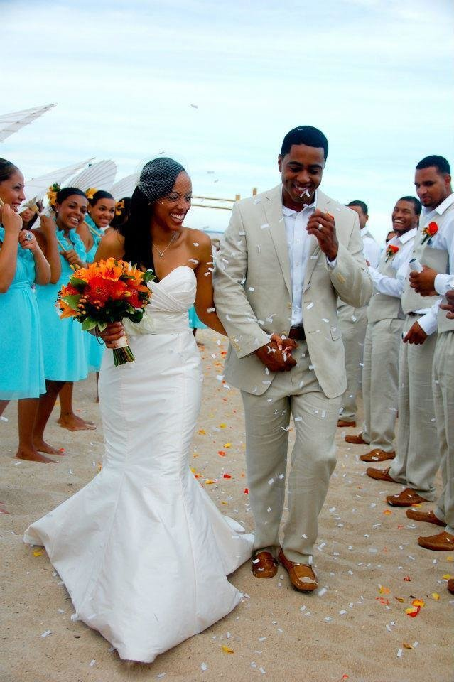 Catia Cape Verde Brides Tropical turquoise wedding