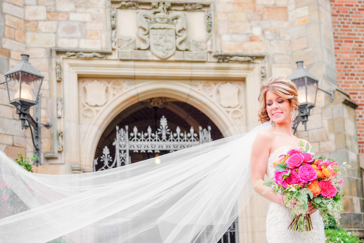 detroit michigan wedding photographers, meadowbrook hall wedding portraits