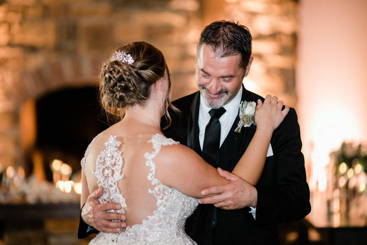 bride and father dance - historic acres of hershey