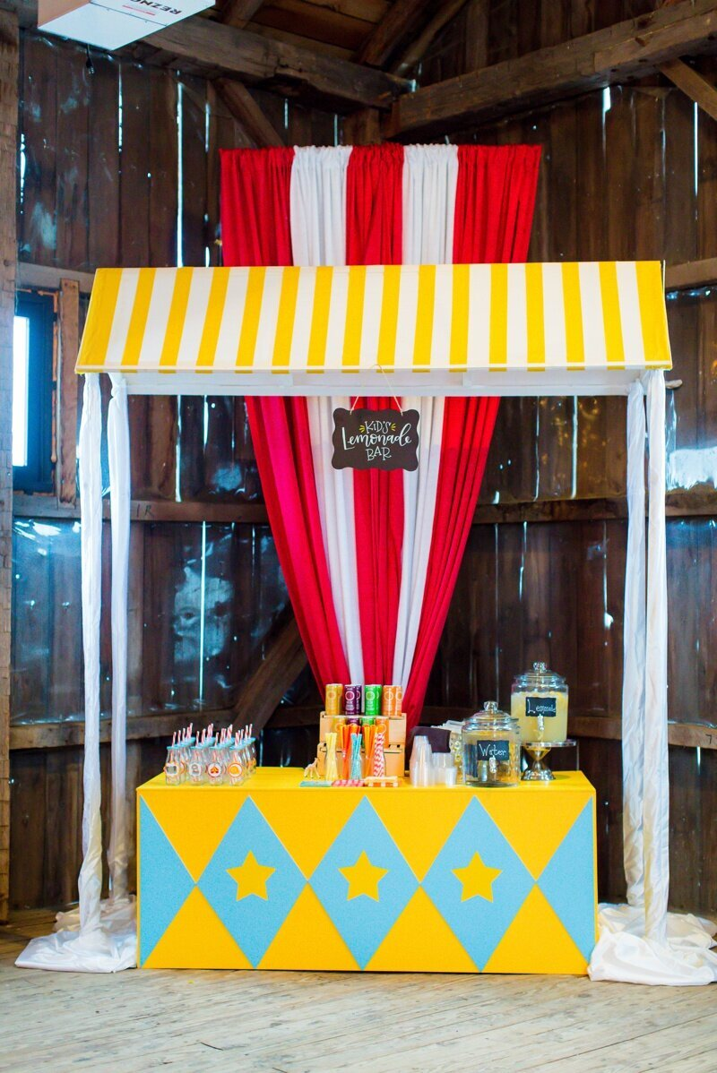 Circus Themed 1st Birthday Indianapolis Party Planner_0047