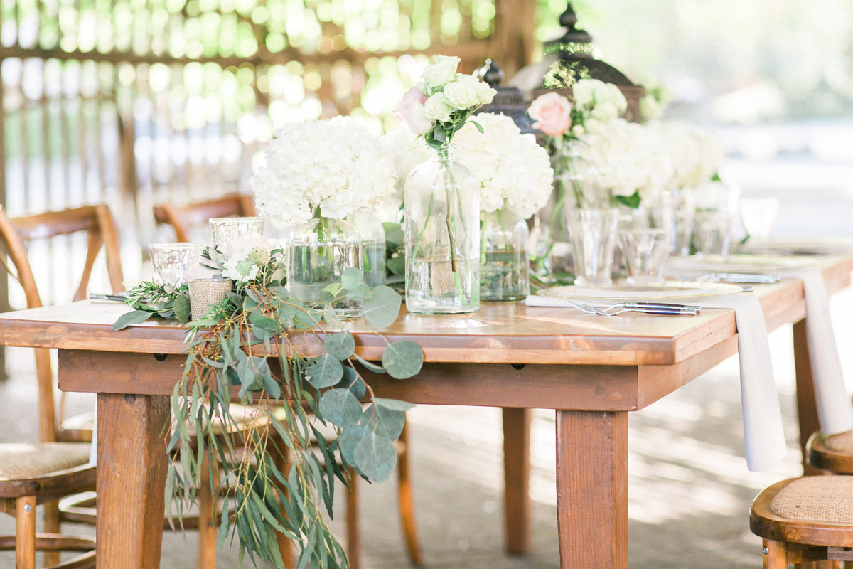 Farm Table Wine Country Wedding