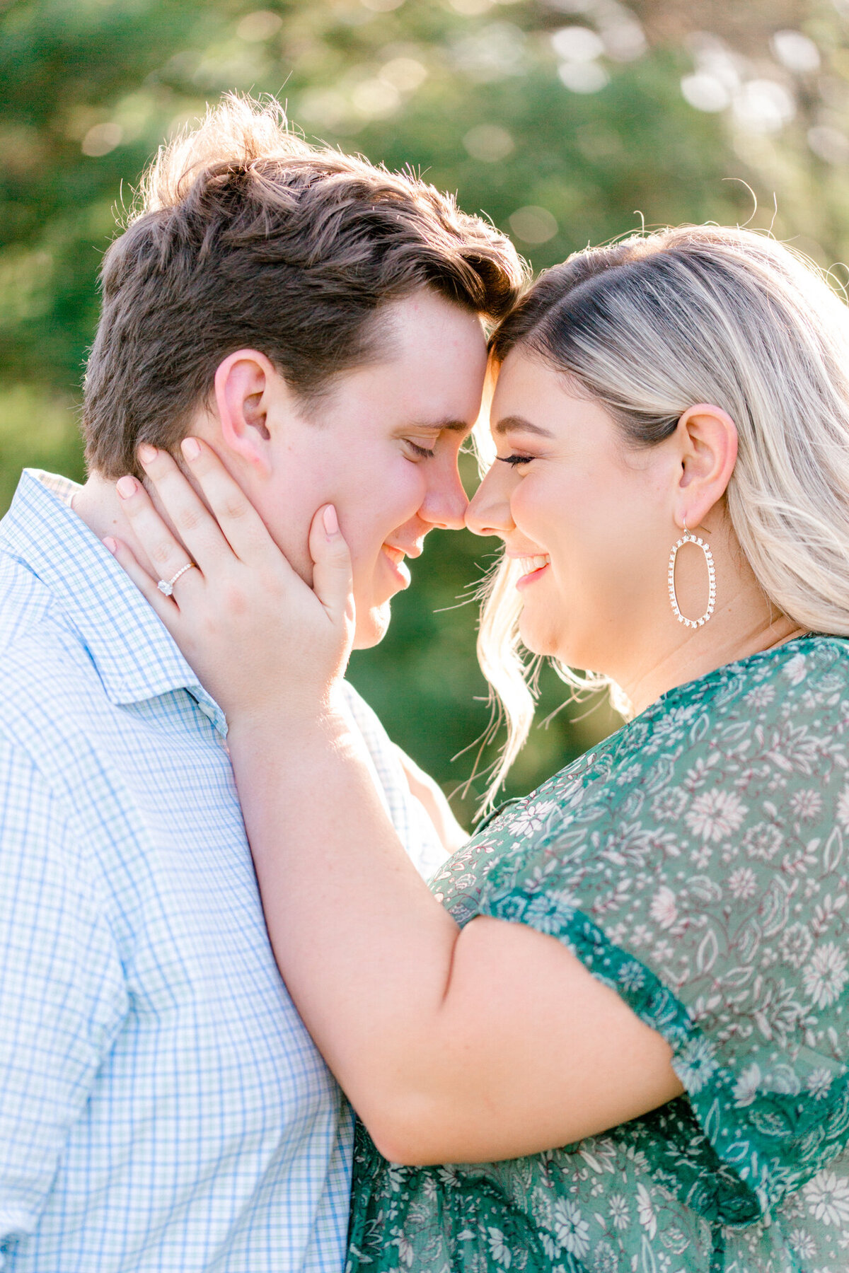 Maddie & Chris Engagement Session at Tandy Hills Natural Area | Sami Kathryn Photography | Dallas DFW Fort Worth Wedding and Portrait Photogapher-6