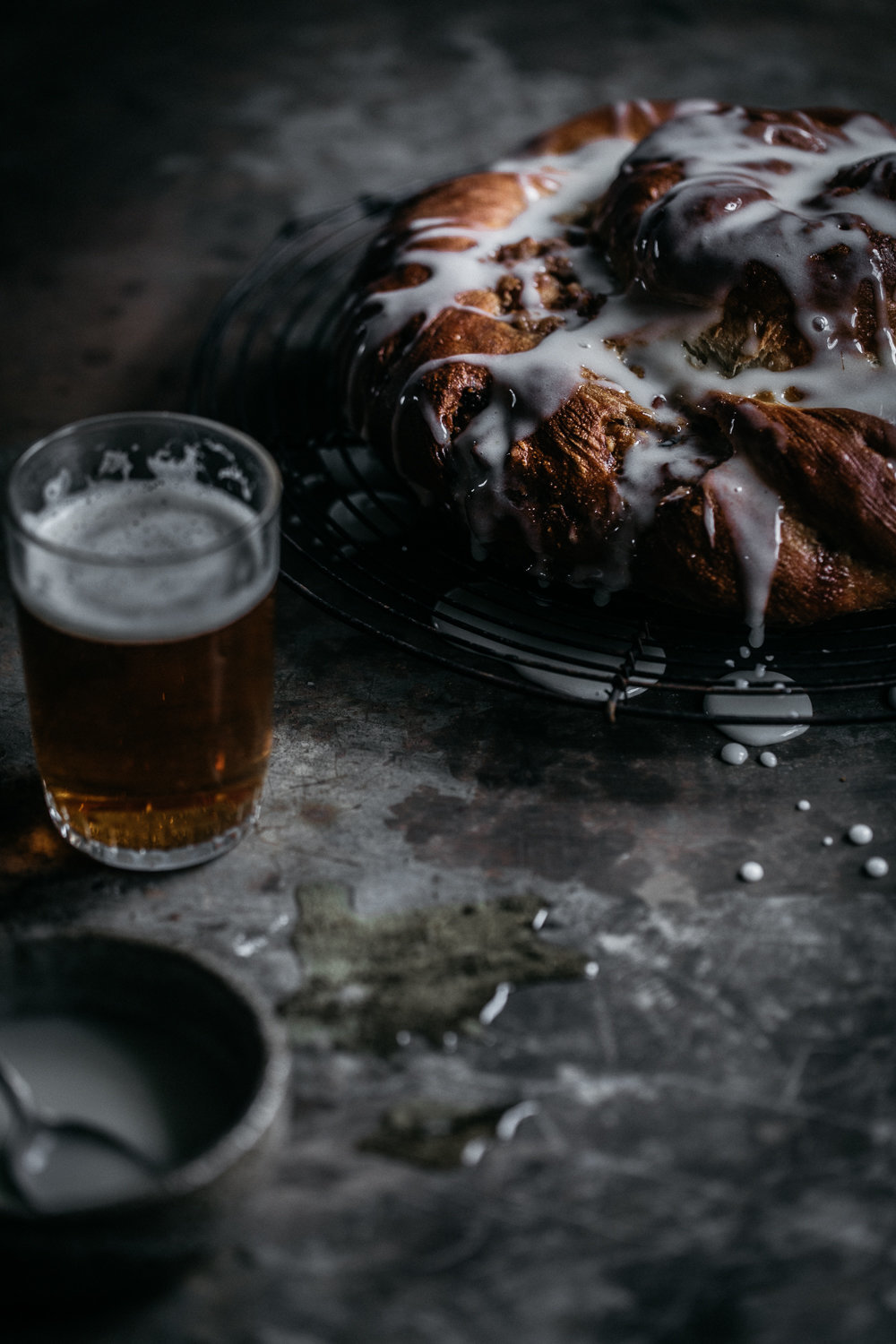 Beer Bread With Sweet Pecan Filling | Anisa Sabet | The Macadames-161