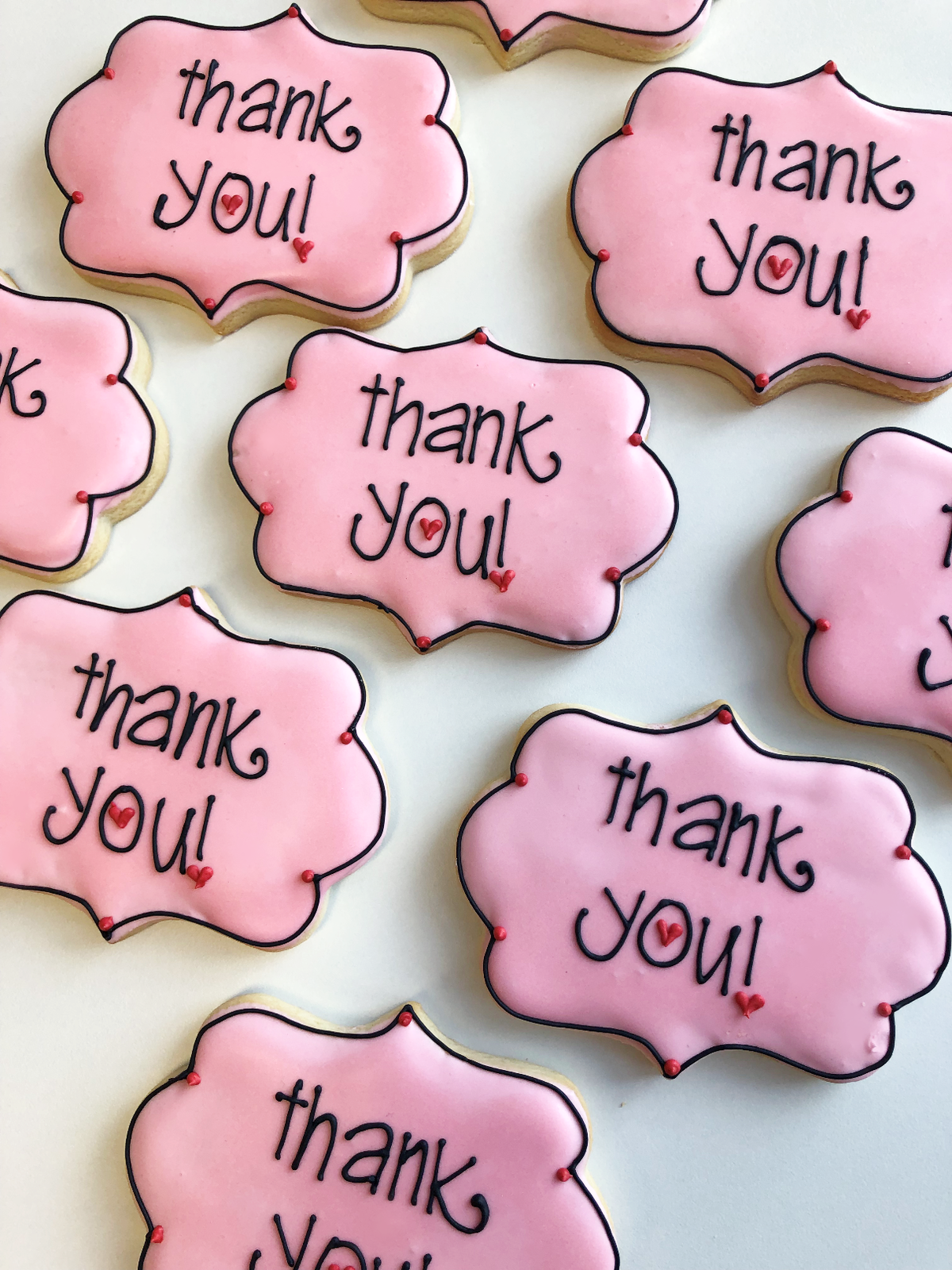 Whippt Desserts - Thank You Sugar cookies Feb 2019