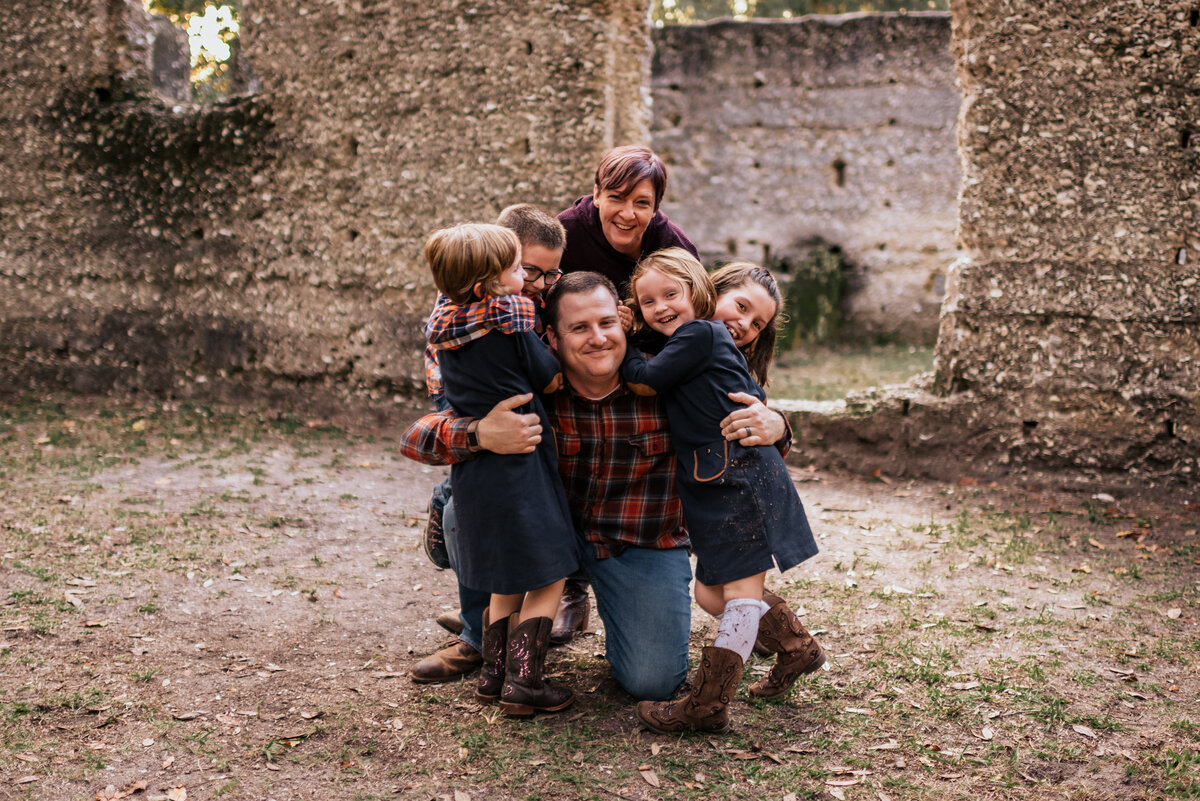 McIntosh Sugarmill Ruins - St Mary's Family Photographer Ashley Durham Photography - Kaczkowski Family-236