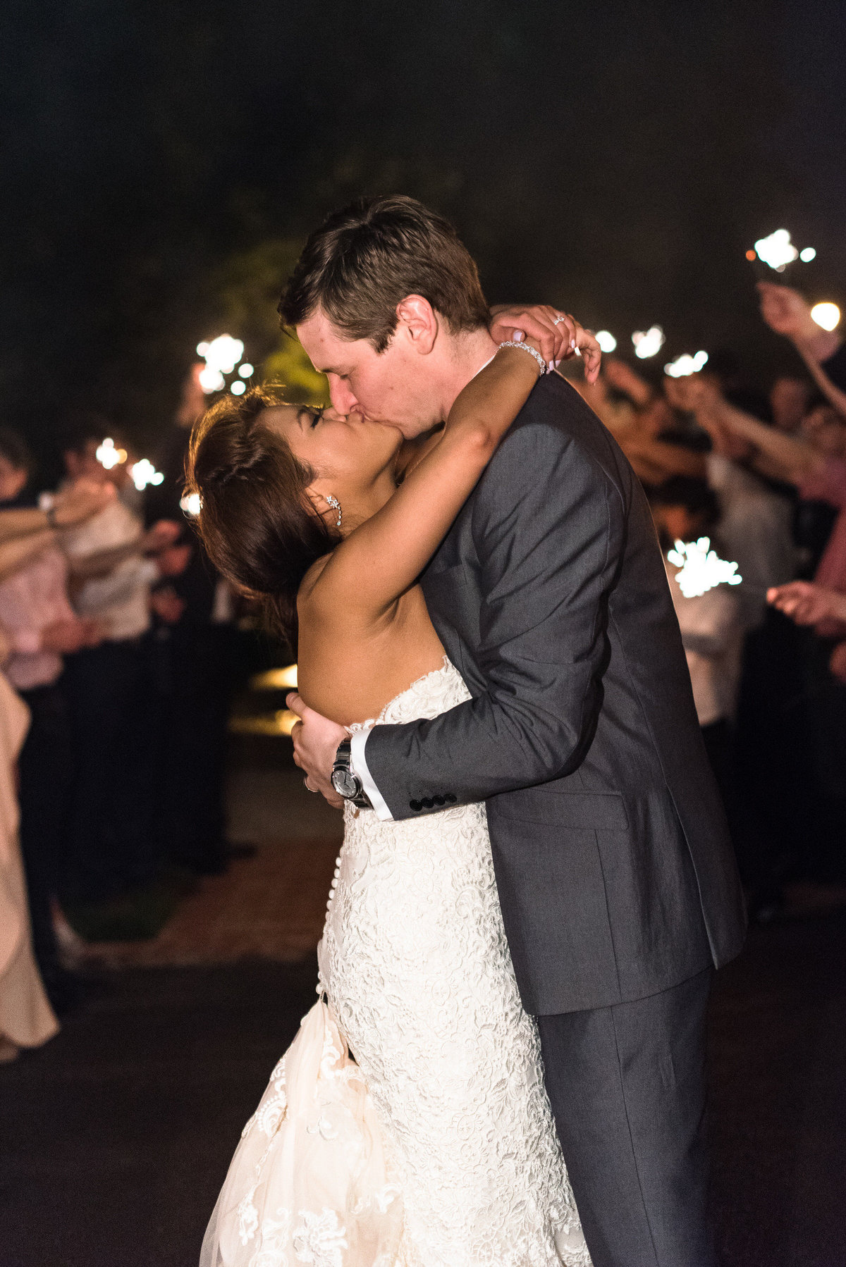 hunt phelan wedding exit photo