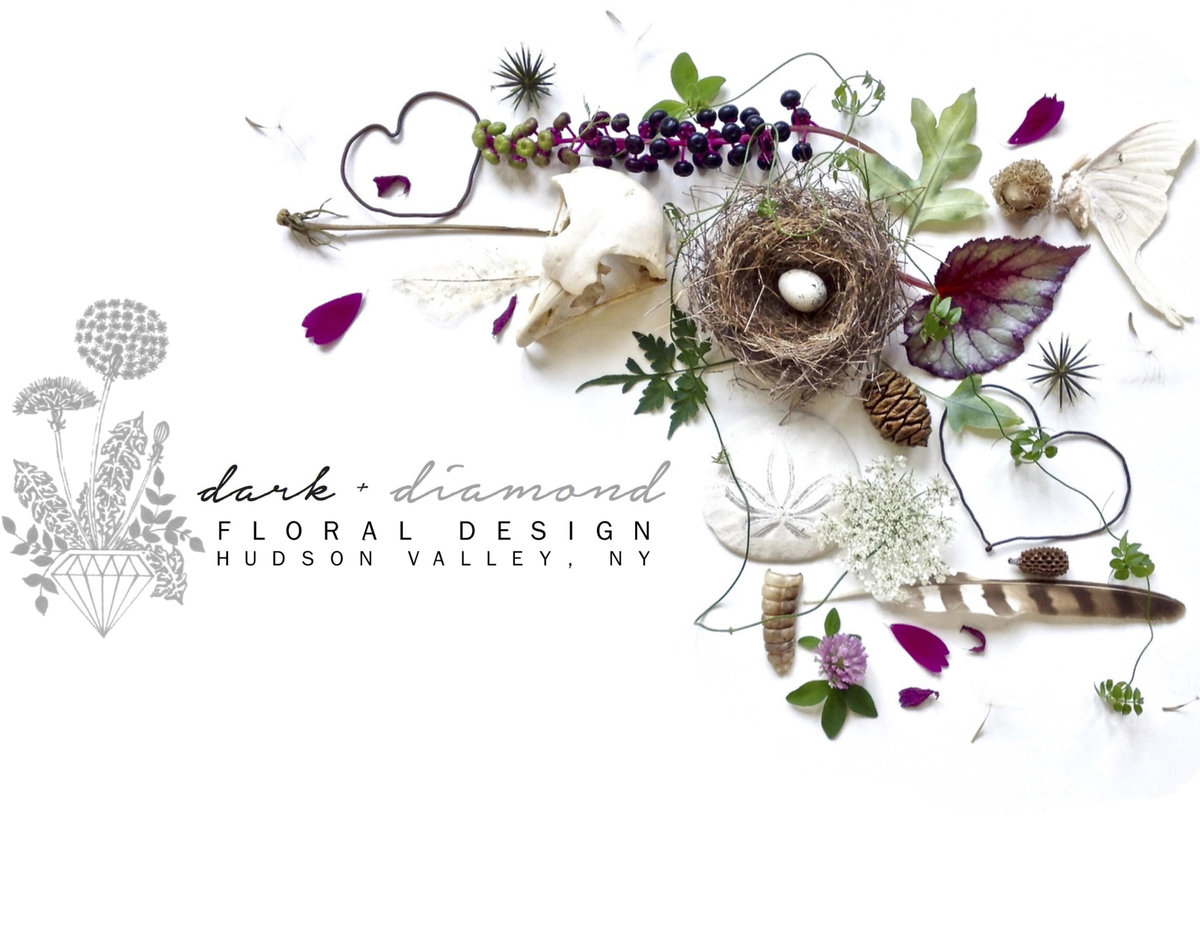 Dark and Diamond Floral Design, Hudson Valley florist