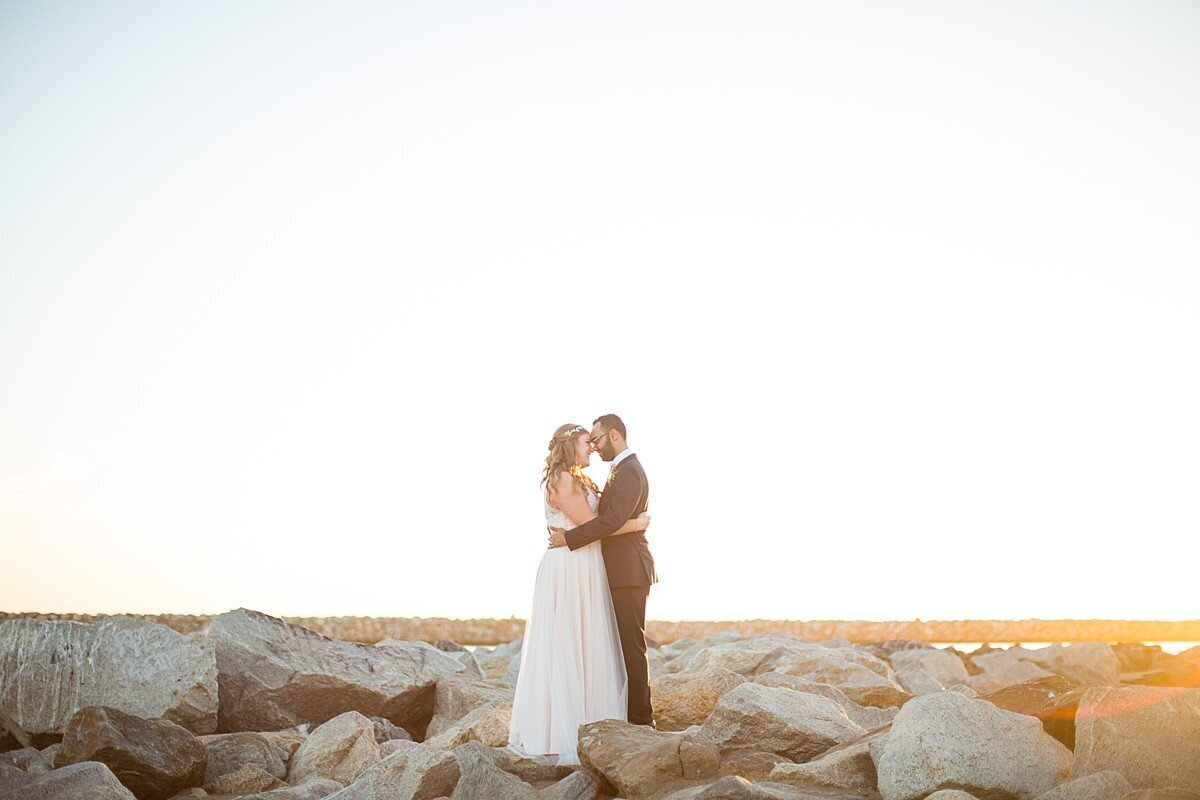 Egyptian fusion wedding photography in Manhattan Beach.