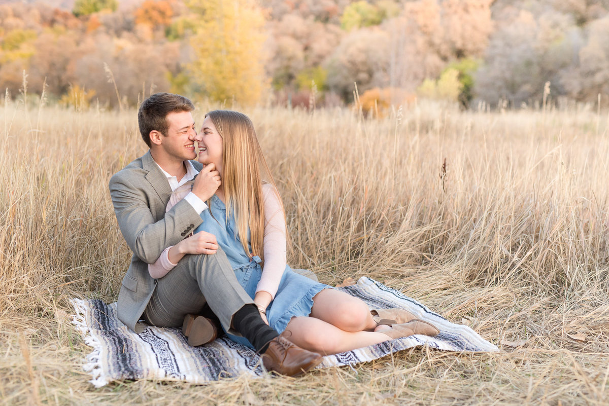 Layton Fall Engagement Photography - Utah Wedding Photographers-9