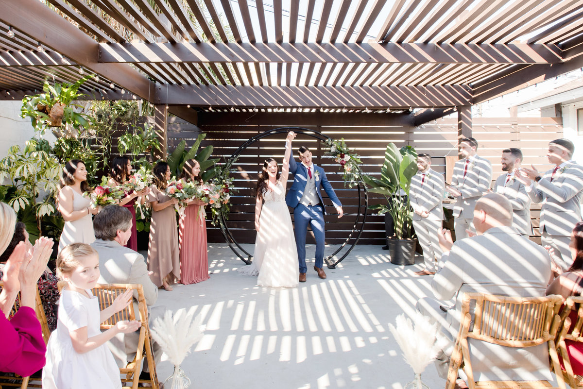 Tampa boho wedding at Fancy Free Nursery 31