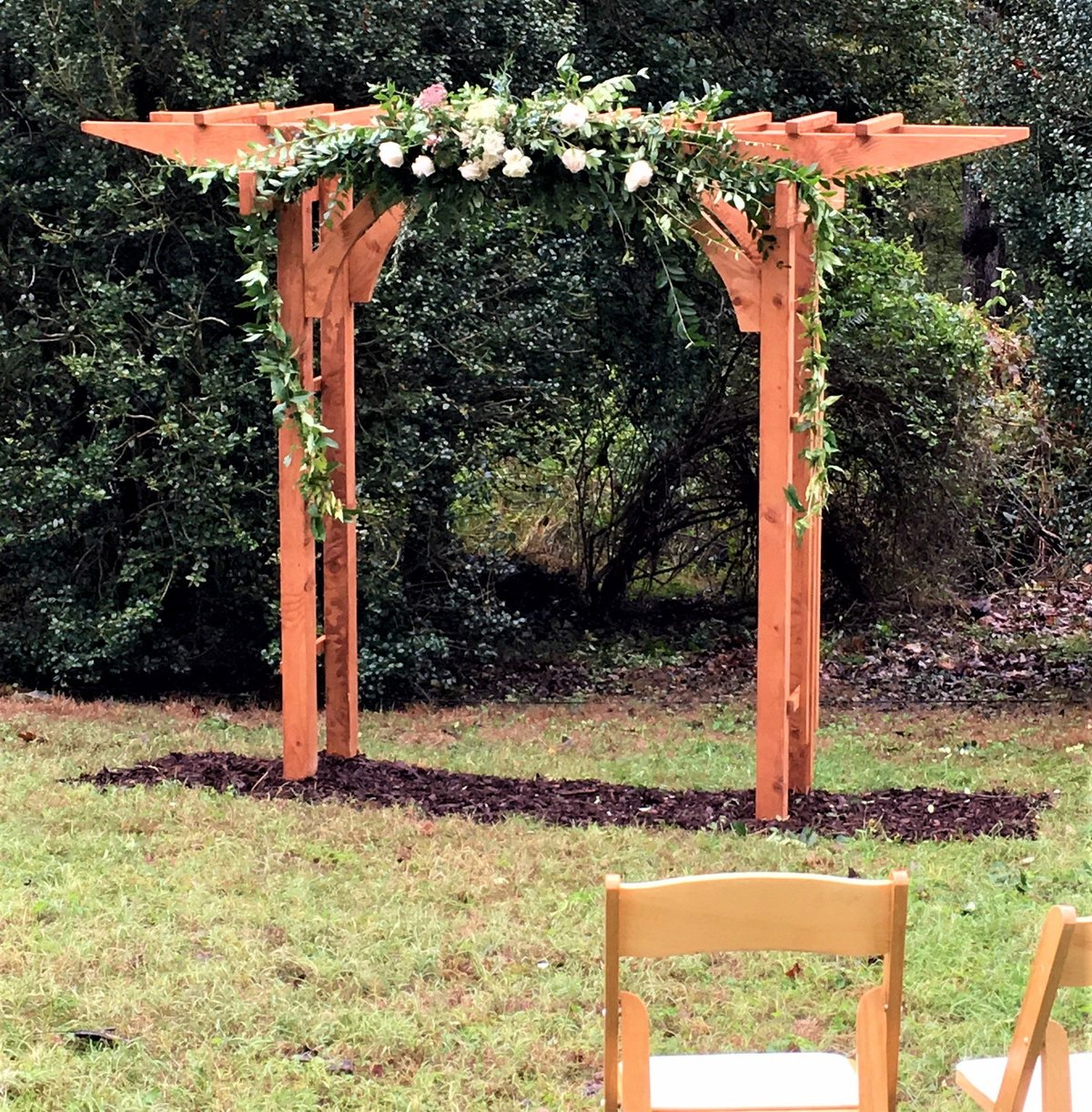 Backyard wedding in Vienna, Virginia
