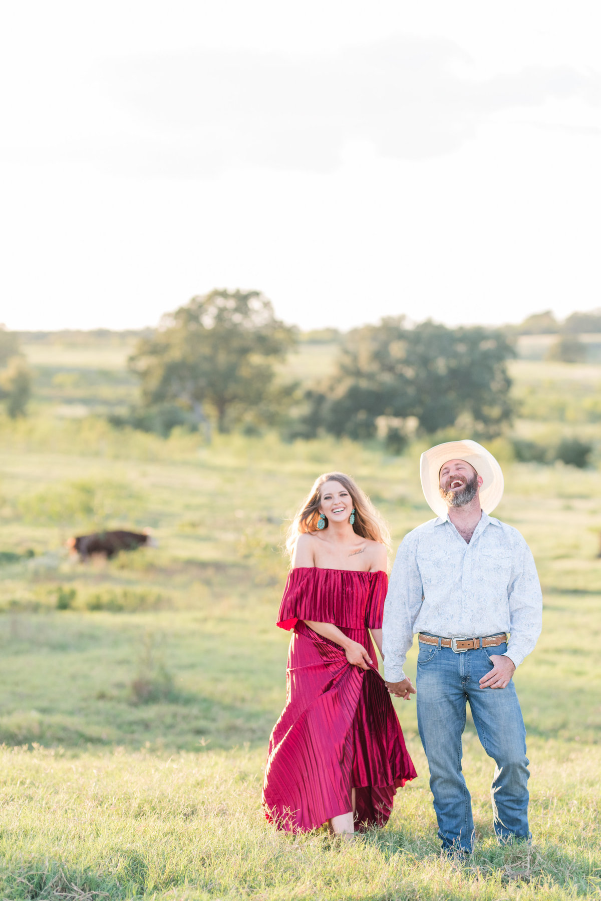 Kingsbury Texas Engagement Photos-98