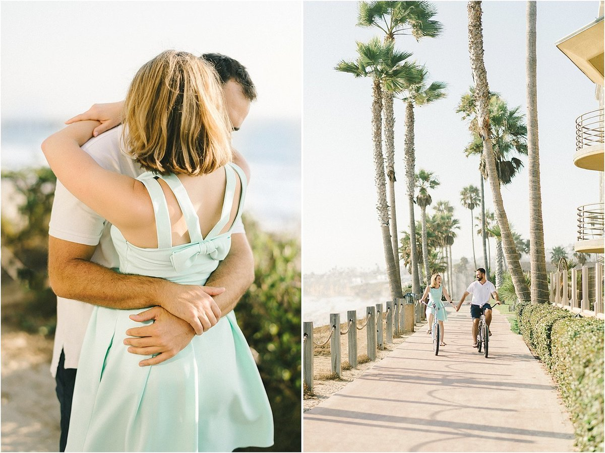 La Jolla California Beach Engagement Session-4