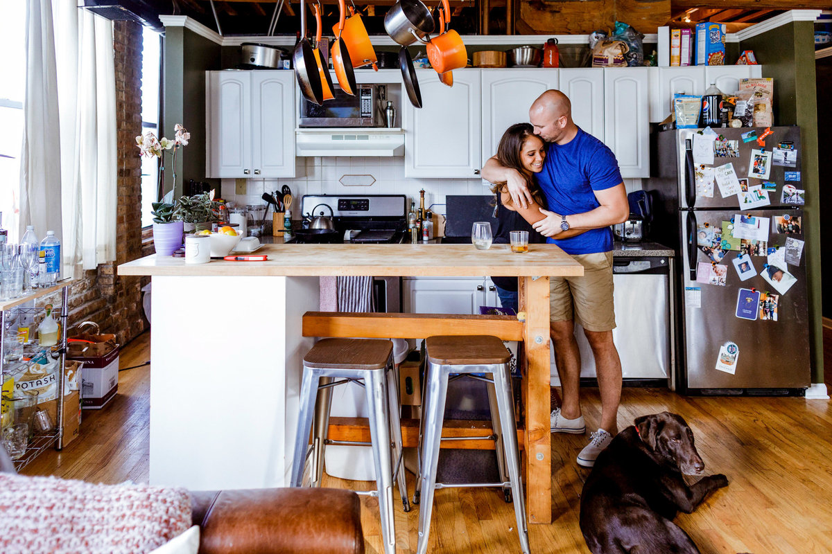 At-Home-Engagement-West-Town-Chicago-Photography