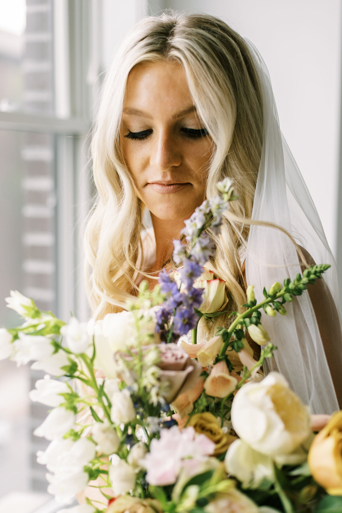 The Day's Design Northern Michigan Florist Lavender Wedding