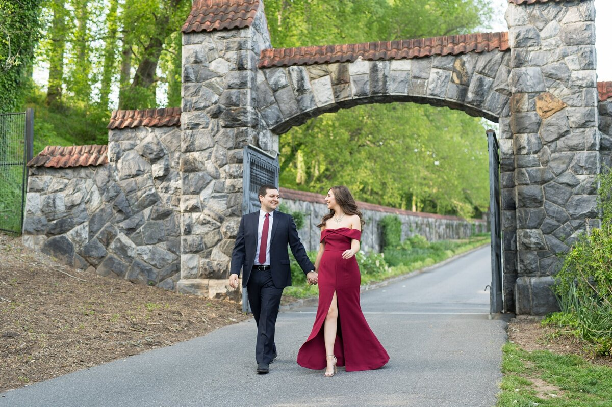 Biltmore Estate Engagement Session 12