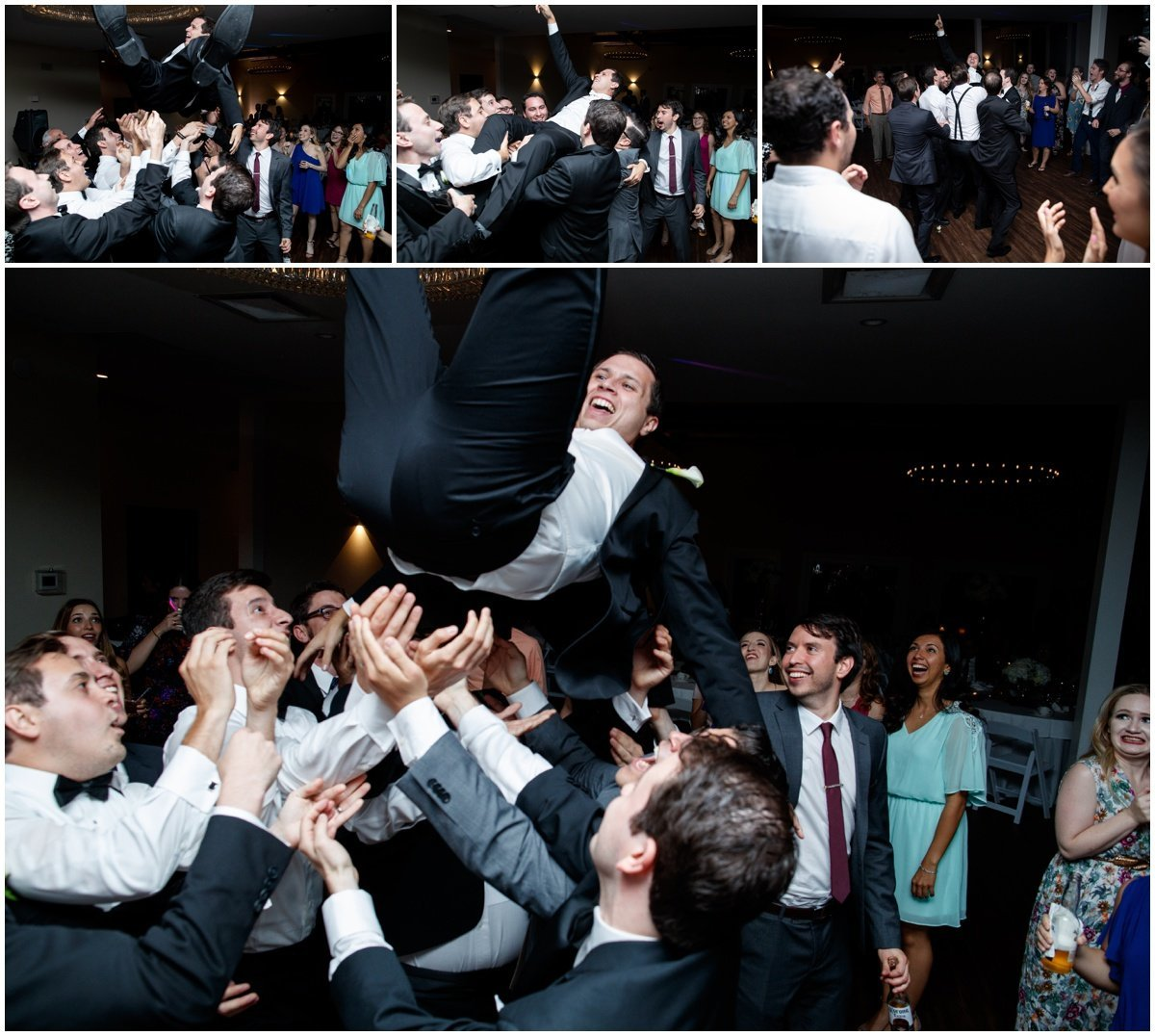 austin wedding photographer vintage villas groom dancing 4209 Eck Ln, Austin, TX 78734