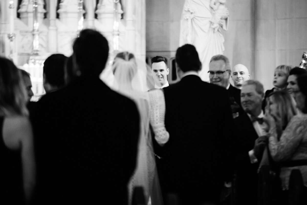 groom-sees-bride-st-james-chapel-chicago