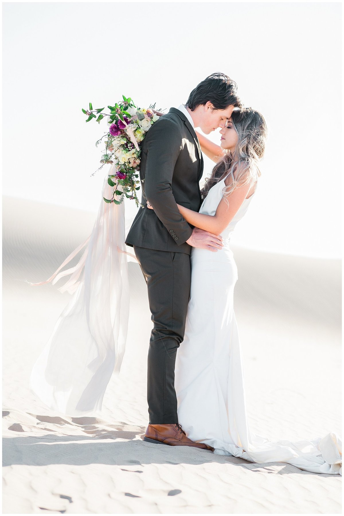 Glamis Desert Bohemian Wedding Styled elopement southern california sand dunes photo014